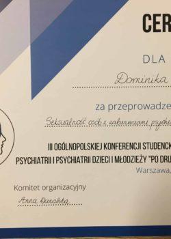 psycholog dominik haak seksuolog lgbt warszawa konferencja uniwersytet medyczny