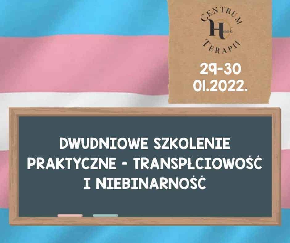szkolenie transpłciowość niebinarność dysforia płciowa